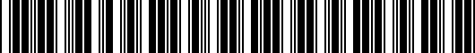 Barcode for PT2087411010