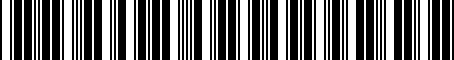 Barcode for PT93289100