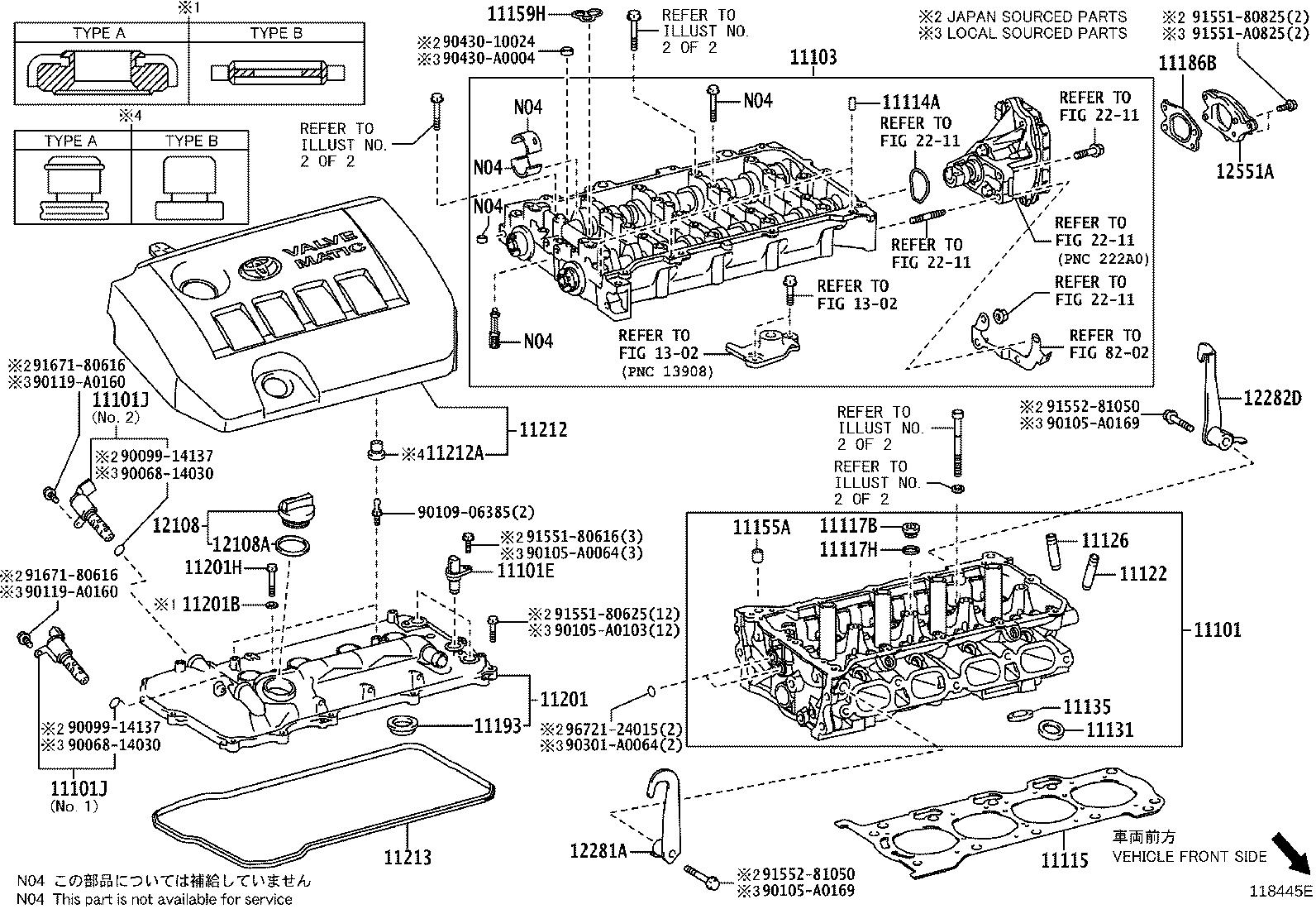 Toyota Corolla Bracket, vacuum pump, no. 1. Engine ...